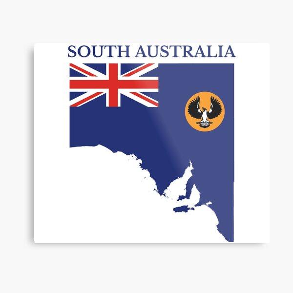 South Australia, Australian State Metal Print