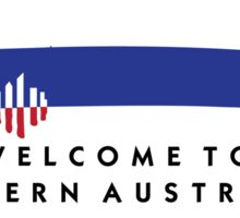 Welcome to Western Australia Road Sign, Australia Sticker