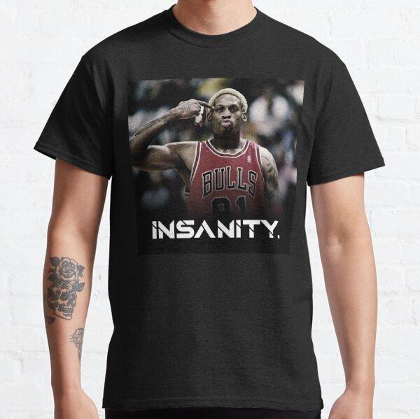 Dennis Rodman Cita motivacional loco Camiseta clásica
