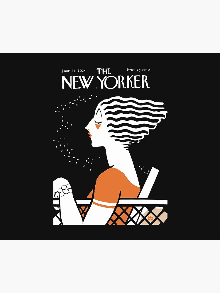 New Yorker Cover, June 1925 Artwork Reproduction for Wall Art, Prints, Posters, Tshirts, Men, Women, Kids by clothorama