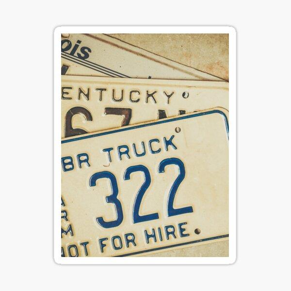 CULT STICKERBOMB European Euro UK License Number Plate Holder Frame German NEW