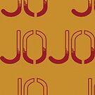 Jojo's Bizarre Adventure - Pattern Orange by nintendino