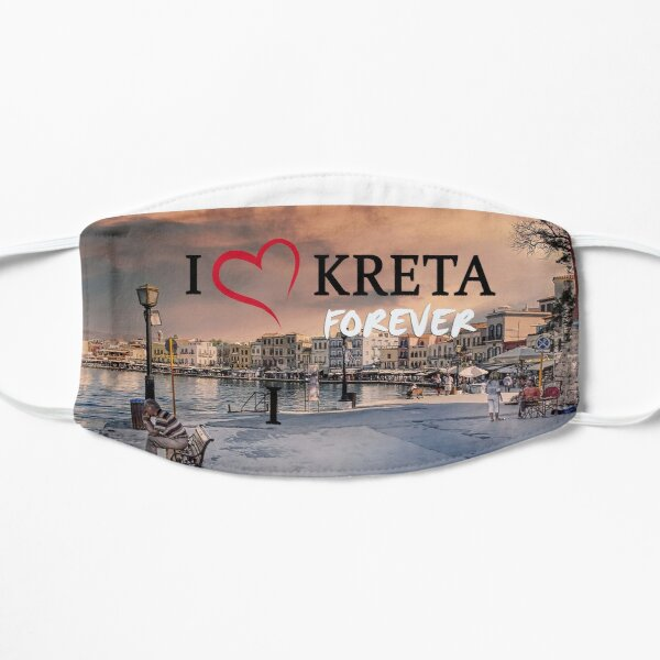 Loving Crete 2020 Flat Mask