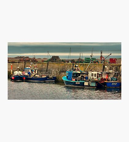 The Harbour Seahouses Photographic Print