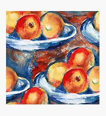 Apples Inspired by Cézanne Photographic Print