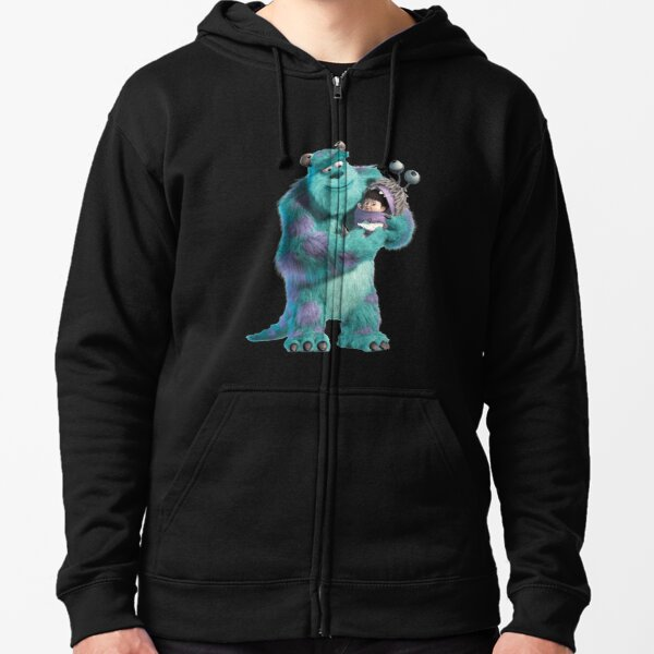 Sully and boo  Zipped Hoodie