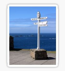 Iconic Lands End England Sticker