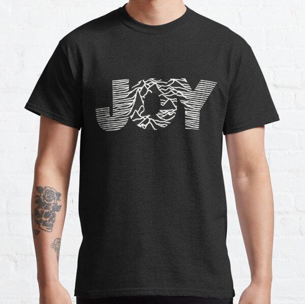 JOY - Joy Division 'Unknown Pleasures' logo Classic T-Shirt