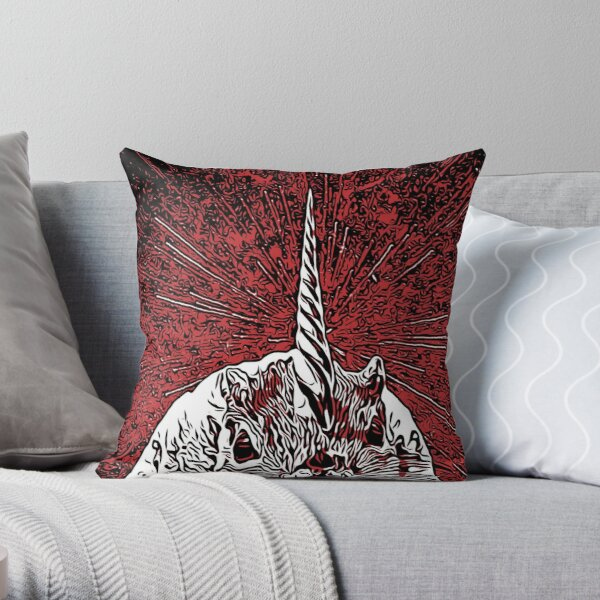 The Overlord Unicorned Squirrels From Mars Throw Pillow