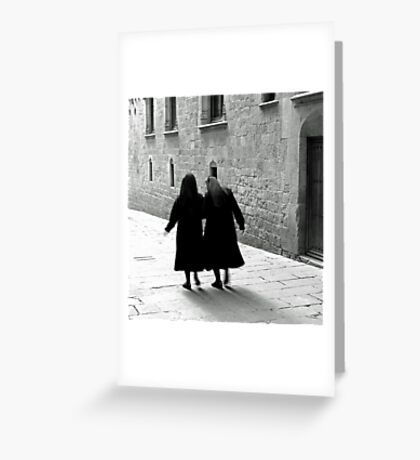 Barcelona Pace Greeting Card