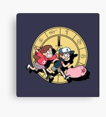 The Adventures of the Mystery Twins Canvas Print