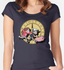 The Adventures of the Mystery Twins Women's Fitted Scoop T-Shirt