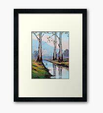 Valley Gums Framed Print