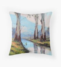 Valley Gums Throw Pillow