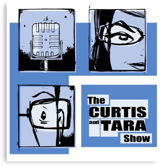 Curtis and Tara Show Blue Period Logo  by CurtisAndTara