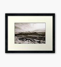 Skiddaw (winter) Framed Print
