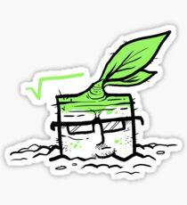 Square Root Sticker