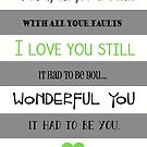 I Love You Still by Stacey Roman