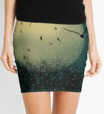 Winter night Mini Skirt