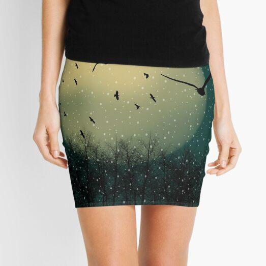 Winter night Mini Skirt