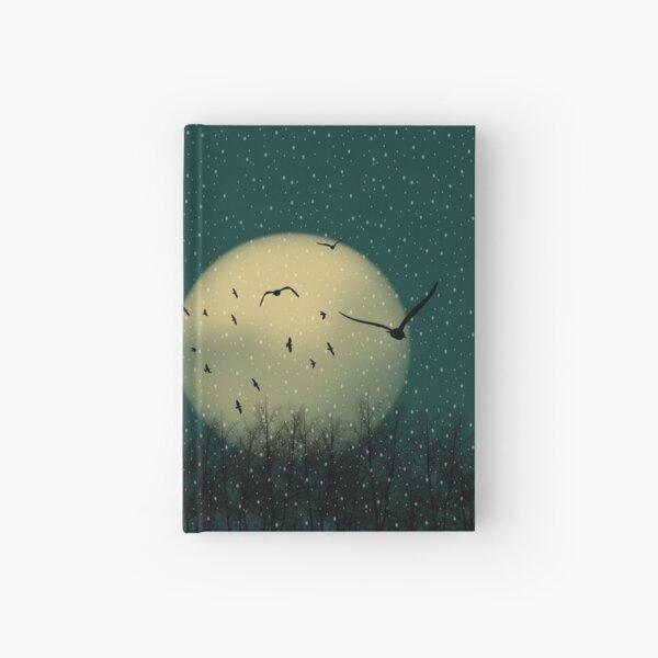 Winter night Hardcover Journal