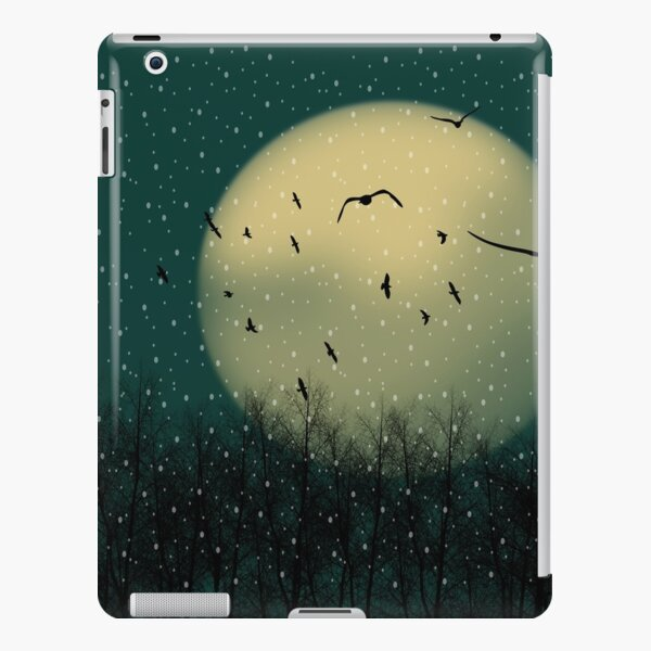 Winter night iPad Snap Case