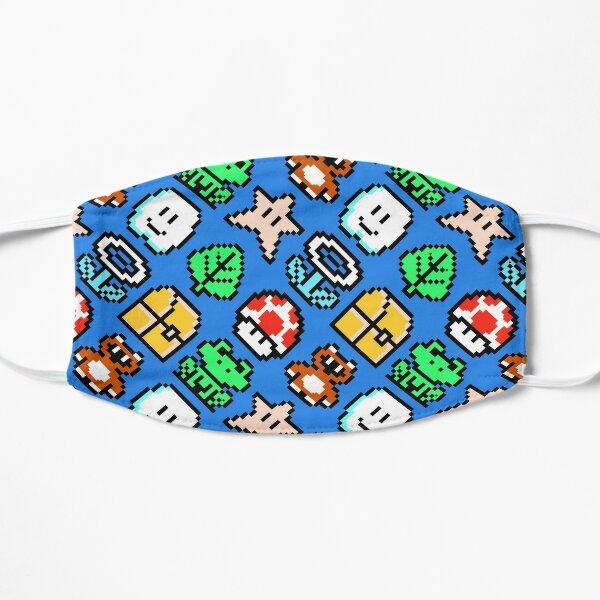 Vintage video game nostalgia item pattern | BSL8R-SMB3 Mask