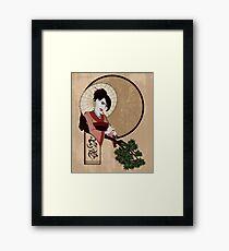 Jap Girl Framed Print