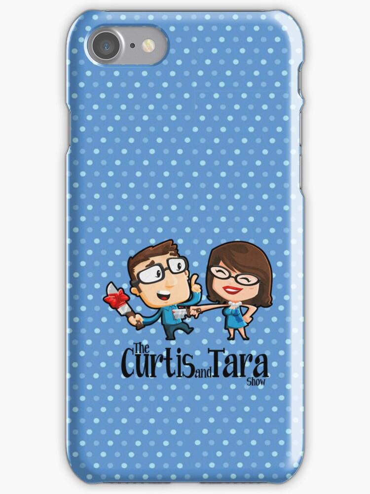 Curtis and Tara Show Stop Stabbing LOGO by CurtisAndTara