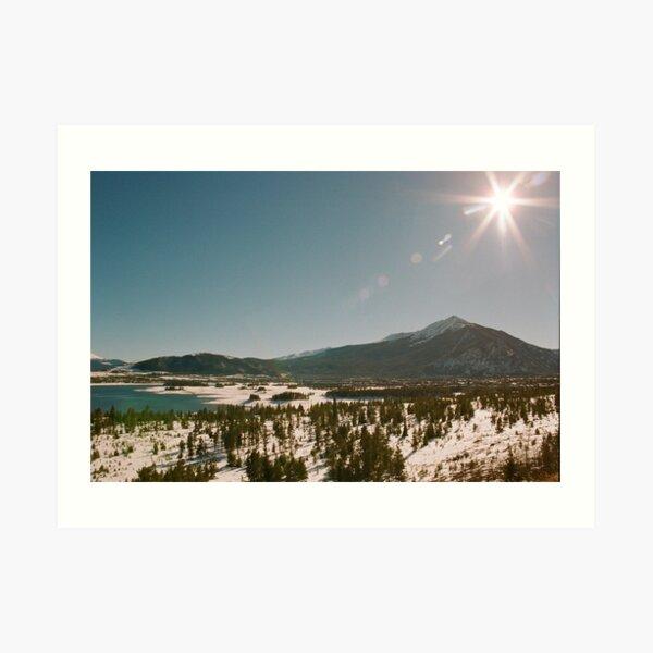 Colorado Sunshine Art Print