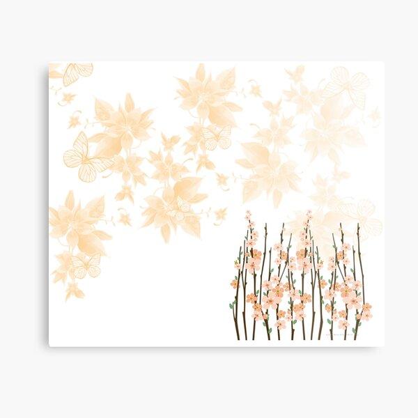 Flowers in paradise Metal Print