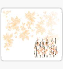 Flowers in paradise Sticker