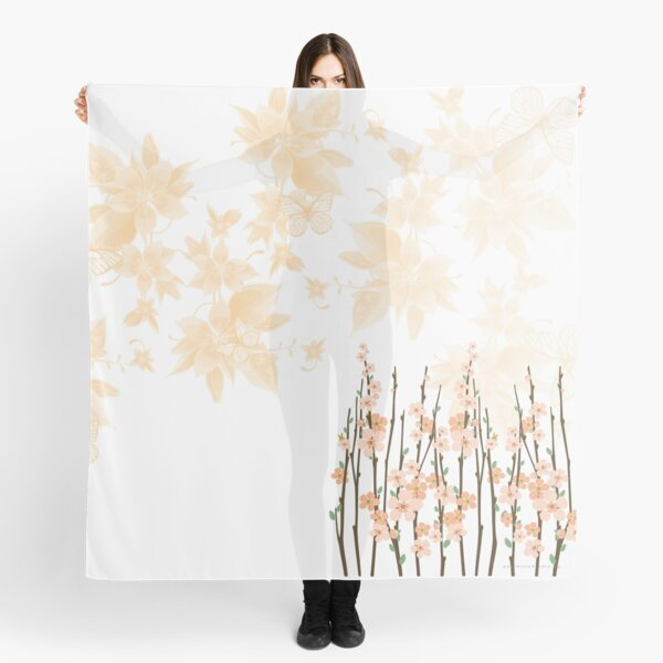 Flowers in paradise Scarf