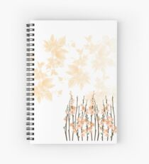 Flowers in paradise Spiral Notebook