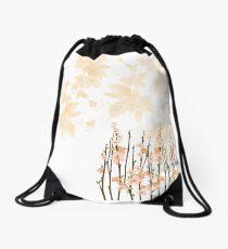 Flowers in paradise Drawstring Bag