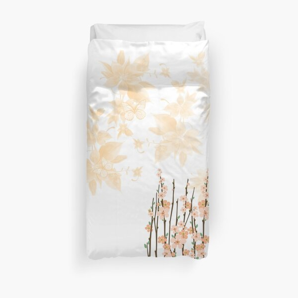Flowers in paradise Duvet Cover