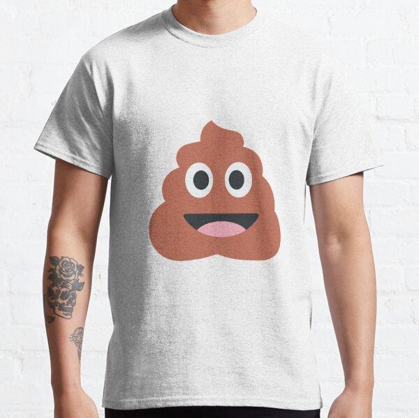 Souriant tas d'Emoji merde T-shirt classique