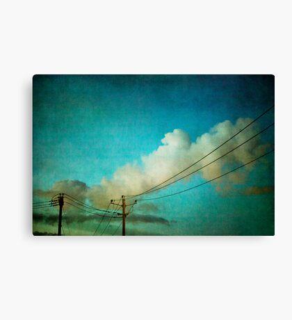 Late Evening Sky Canvas Print