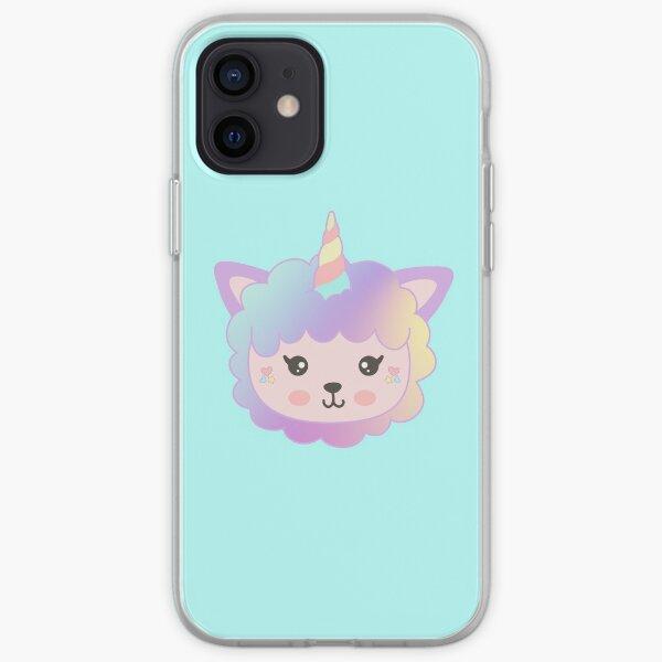 Llamacorn Rainbow iPhone Soft Case