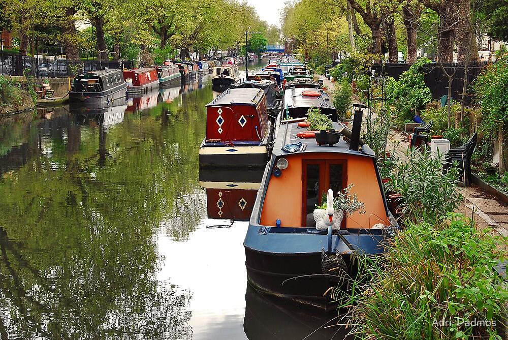 Regent's Canal by Adri  Padmos
