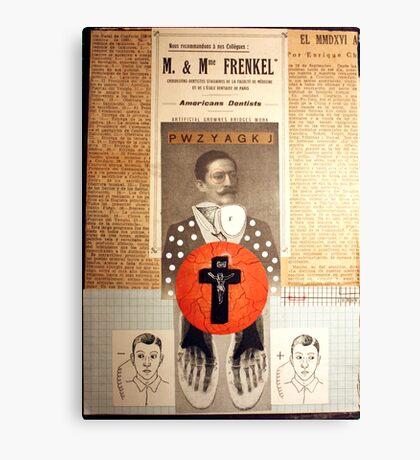 EL FIEL SEGUIDOR, SU DOCTRINA Y SU CAMINO (the loyal disciple, his doctrine and his path) Canvas Print