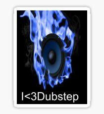 I <3Dubstep Sticker