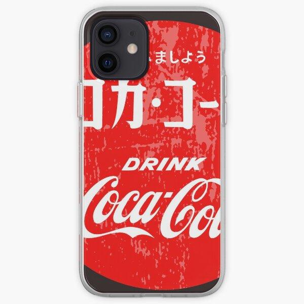 Coque iPhone « Chemise publicitaire Vintage Coke japonais », par ...