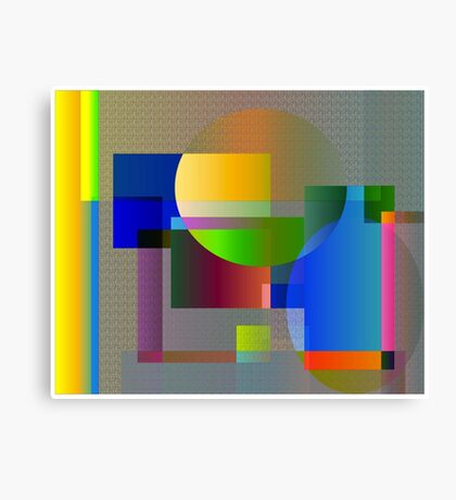 Math Canvas Print