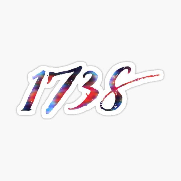 1738 Sticker