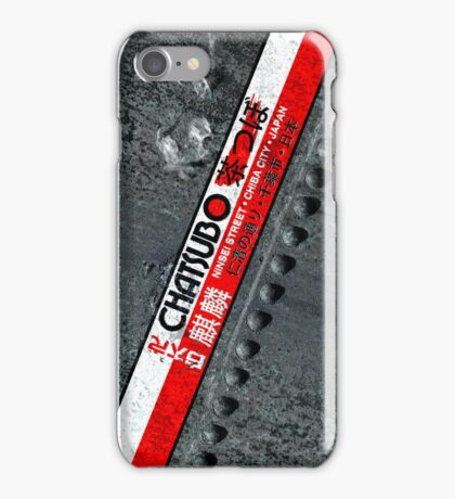 Chatsubo iPhone Case/Skin
