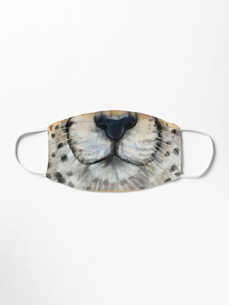 Alternate view of Cheetah Face Mask Mask
