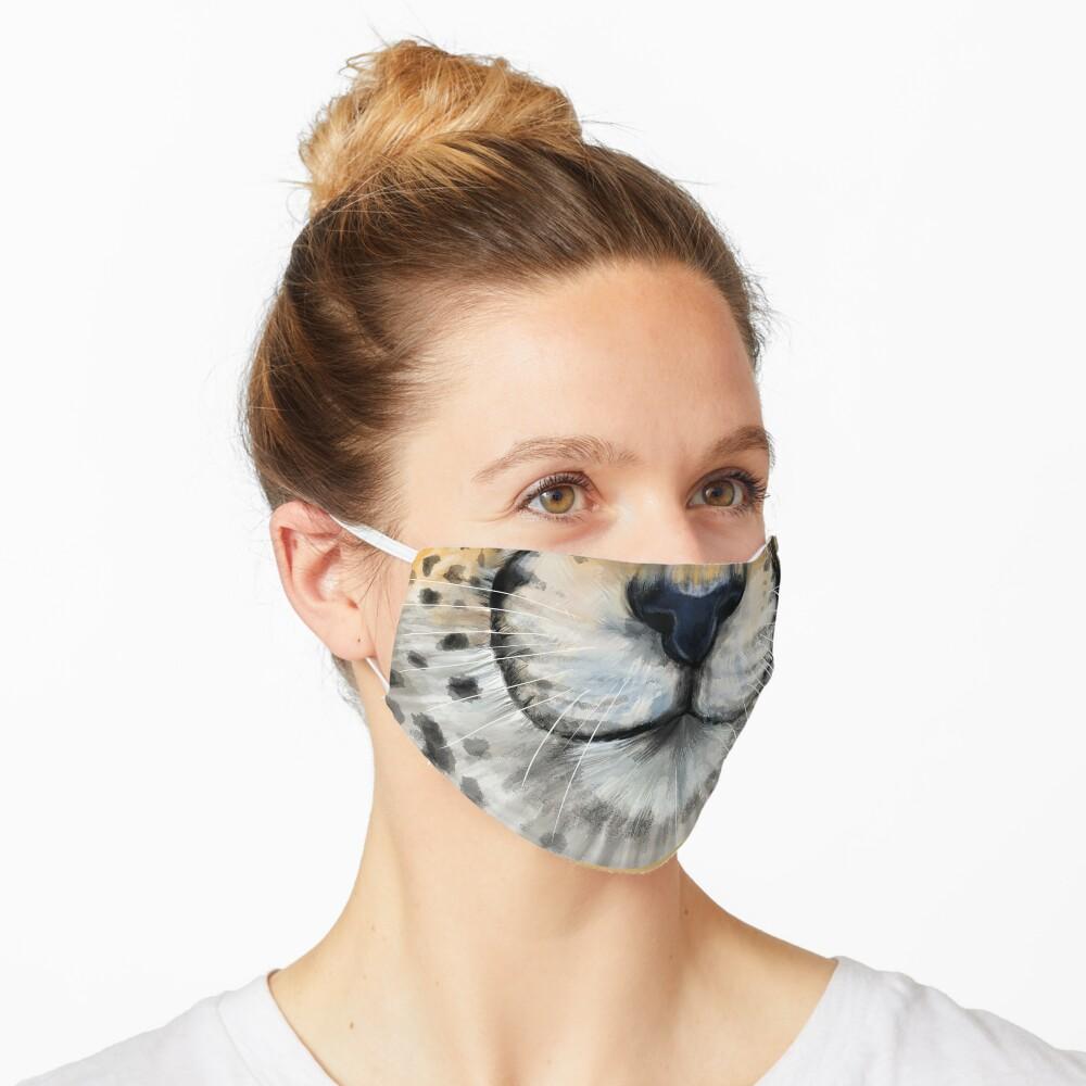 Cheetah Face Mask Mask