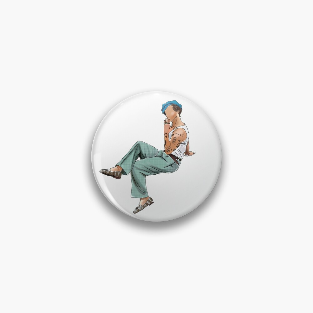 Harry Styles Pin-up Rolling Stones Pin
