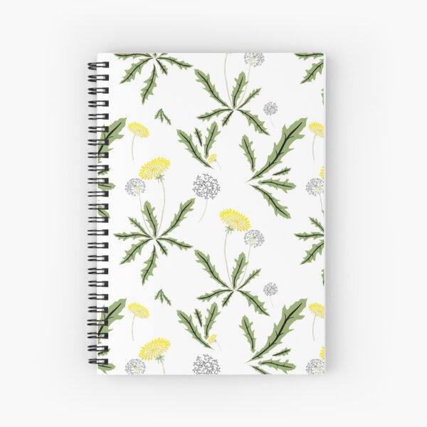 Dandelion Dance Spiral Notebook